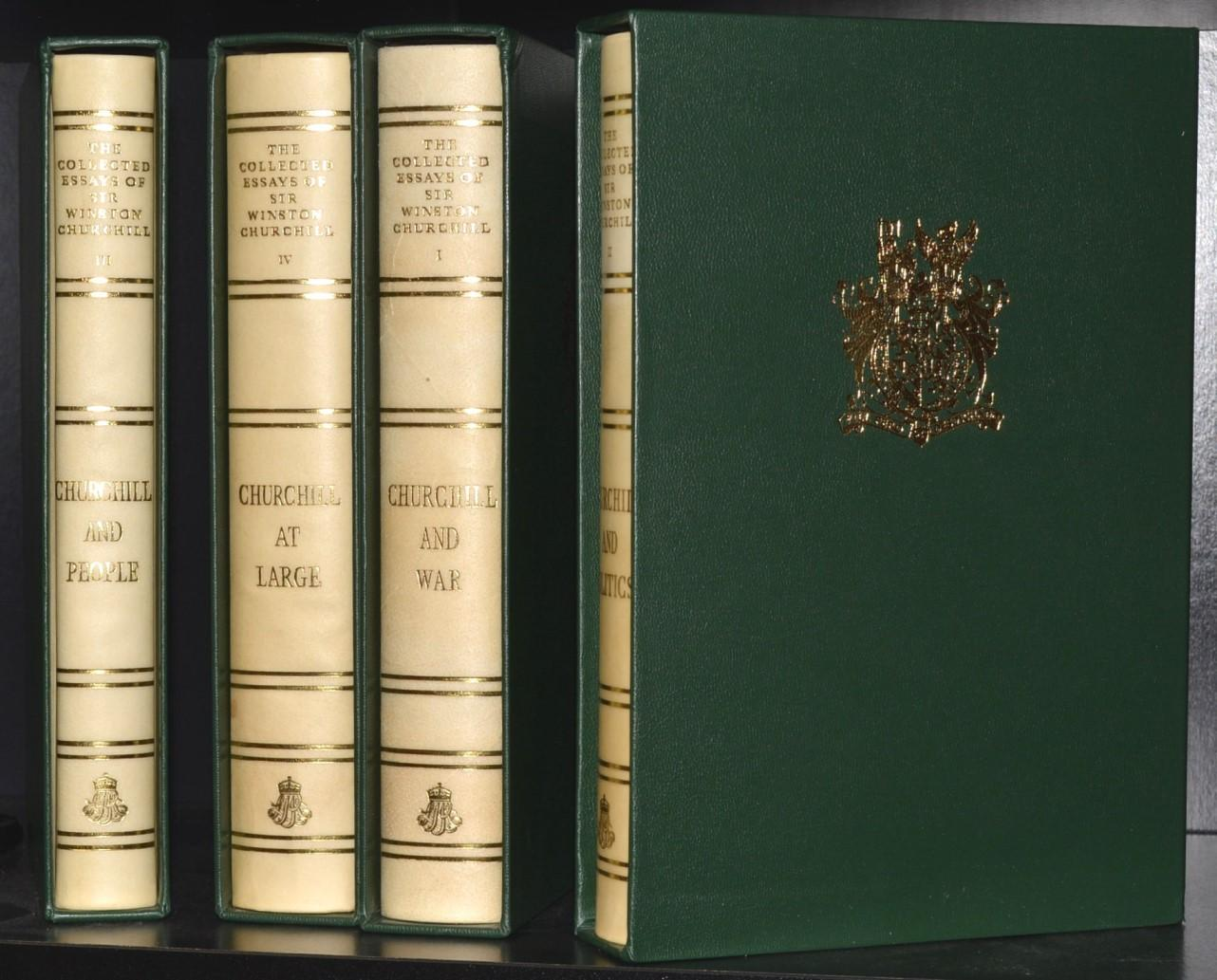 Churchill Winston The First Collected Work Of Sir Centenary Limited Edition Abebooks Essays Essay
