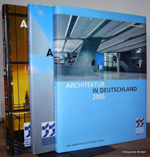 Architektur in Deutschland '01 ('03, 2005). Deutscher: Durth, Werner.