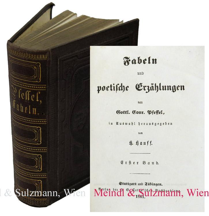 Fabeln und poetische Erzählungen, in Auswahl herausgegeben: Pfeffel, Gottlieb Conrad.