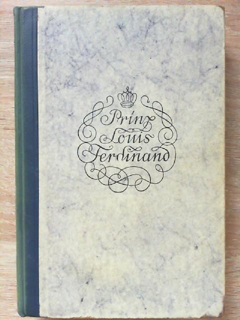 Prinz Louis Ferdinand - ein Zeitbild: Fanny, Lewald: