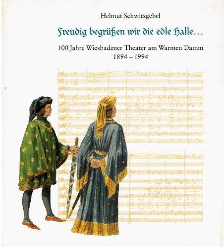 Freudig begrüssen wie die edele Halle. 100: Schwitzgebel, Helmut.: