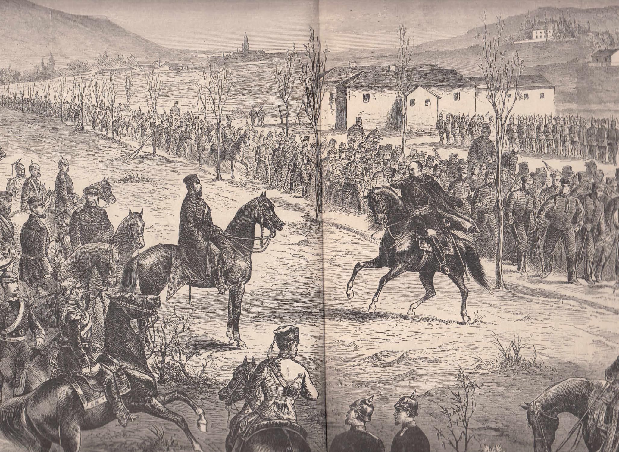 Der Ausmarsch des französischen Gardekorps aus Metz: Metz,