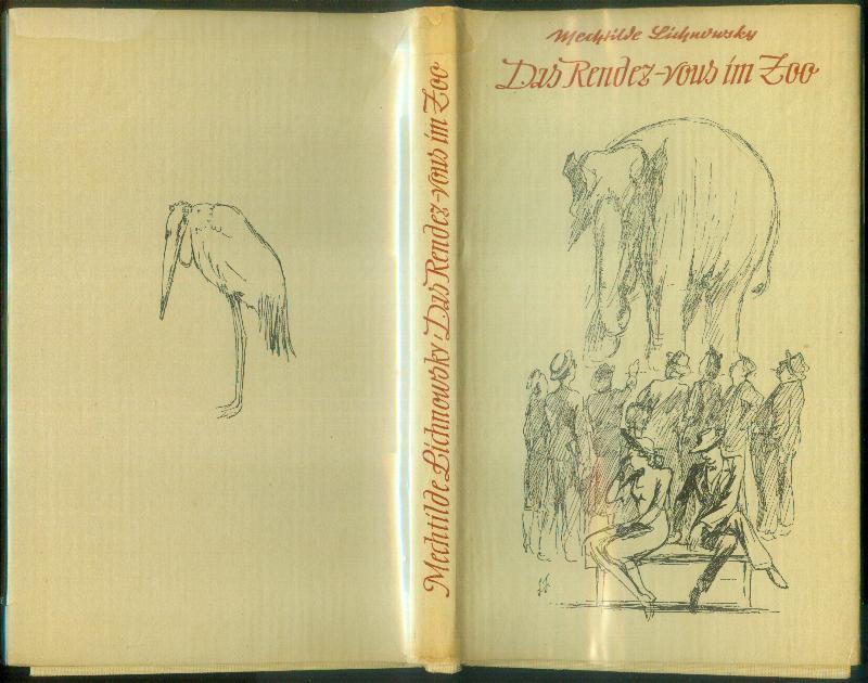 Das Rendez-vous im Zoo. (Querelles d'amoureux.) - LICHNOWSKY, Mechtilde (Fürstin von)