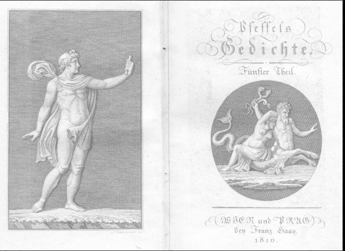 Pfeffels Gedichte. Fünfter Theil. (= Poetische Versuche.): Pfeffel, Gottlieb Conrad: