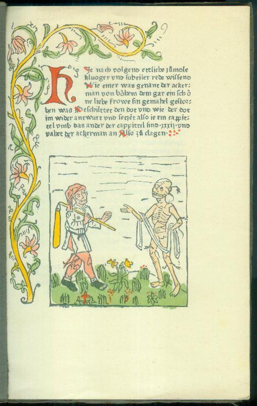 Der Ackermann aus Böhmen / Der Ackermann: SCHRAMM, Albert (Hrsg.)