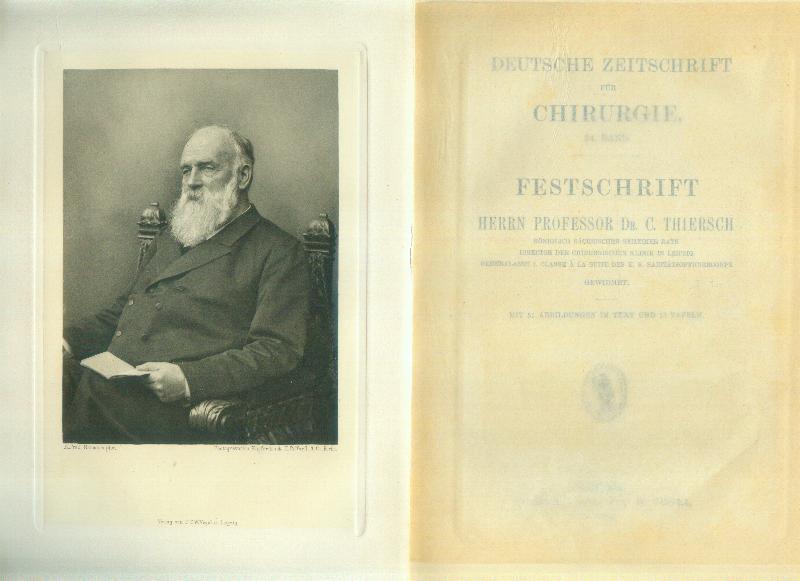 Deutsche Zeitschrift für Chirurgie. 34.Band.: THIERSCH, C. ]