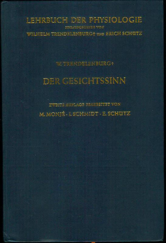 Der Gesichtssinn. Grundzüge der physiologischen Optik. In: TRENDELENBURG, Wilhelm: