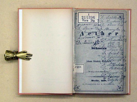 Der Aether [Äther] gegen den Schmerz. [Reprint].: Dieffenbach, Johann Friedrich