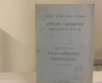 Seventh international congress of applied chemistry, London,: Ramsay, Sir, William: