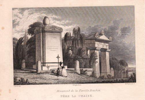 Pére la Chaise. Monument de la Famille: Paris -
