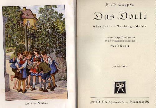 Das Dorli. Eine heitere Kindergeschichte. Mit vier: Koppen, Luise -