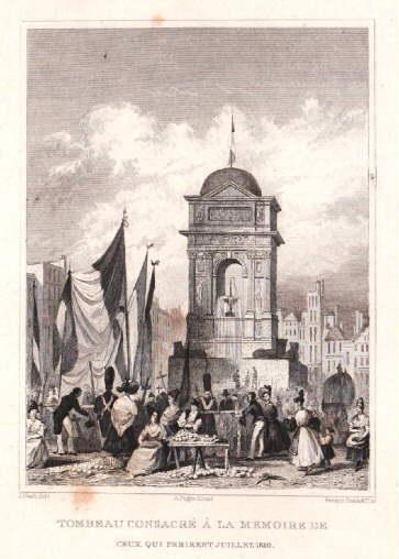 Tombeau Consacré a`la Memoire de Ceux Perirent: Paris -