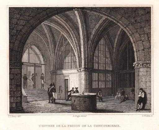 L`Entree de la Prison de la Conciergerie.: Paris -
