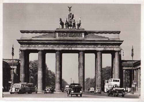 Brandenburger Tor. Ansichtskarte in Photodruck. Ungelaufen.: Berlin -