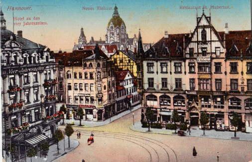 Hotel zu den vier Jahreszeiten - Neues: Hannover -