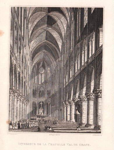 Interieur de la Chapelle Val de Grace.: Paris -