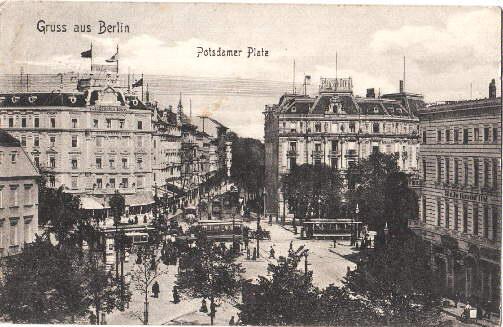 Gruss aus Berlin. Potsdamer Platz. Ansichtskarte in: Berlin -