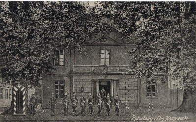 Ratzeburg i. Lbg. Hauptwache. Ansichtskarte in schwarz-weiß.: Ratzeburg -