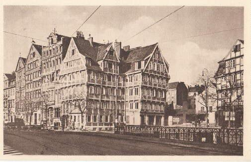 Old Commercial Room (and old Sailor`s Inn).: Hamburg -