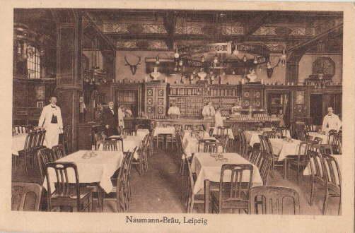 Neumann-Bräu. Neumarkt - Kupfergasse - Magazingasse. Innenansicht.: Leipzig -