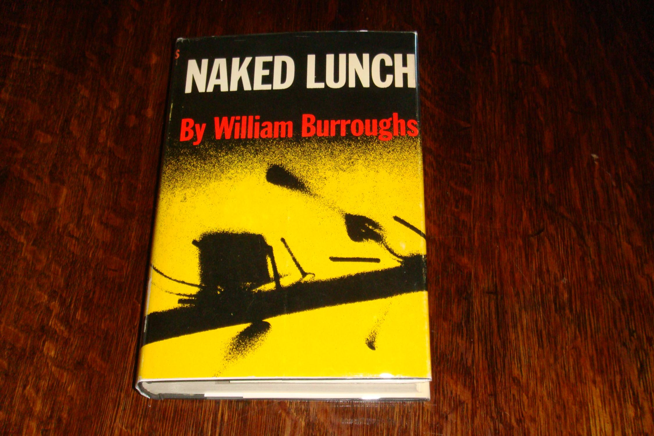Naked Lunch by William S. Burroughs (1990) trade paperback