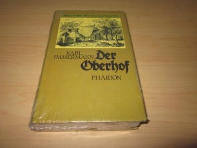 Der Oberhof: Immermann, Karl