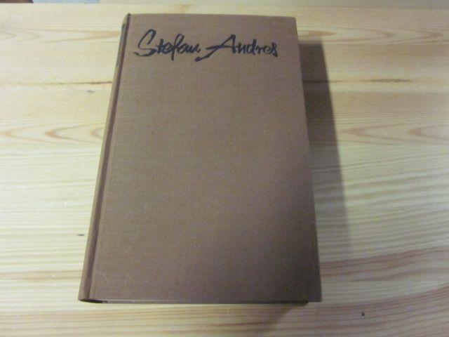 Novellen und Erzählungen: Andres, Stefan