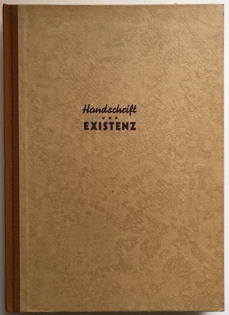 Handschrift und Existenz.: Daim, Wilfried.
