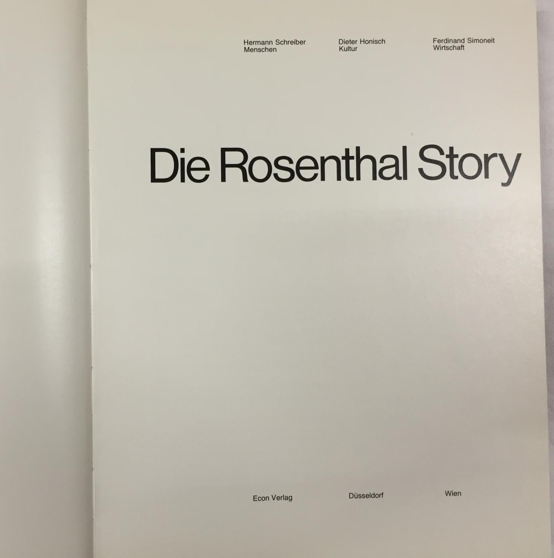 Die Rosenthal - Story.: Schreiber, Hermann /
