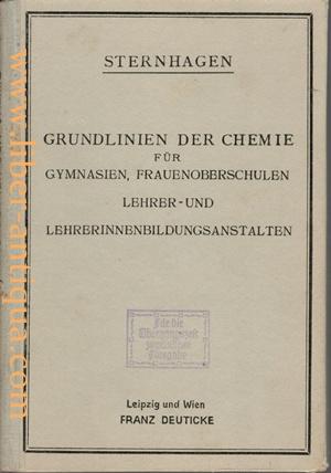 Grundlinien der Chemie für die 5. Klasse: Sternhagen, Prof. Dr.