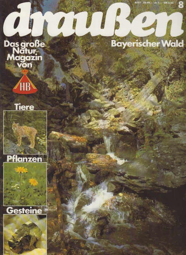 HB NaturMagazin draußen - Bayerischer Wald: o., Autor: