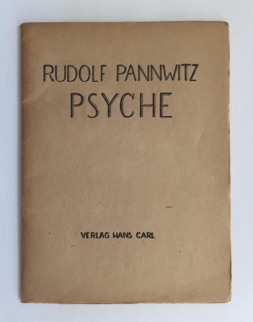 Psyche.: Pannwitz, Rudolf.