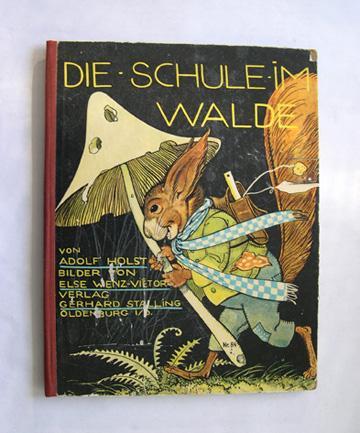 Die Schule im Walde.: Holst, Adolf.