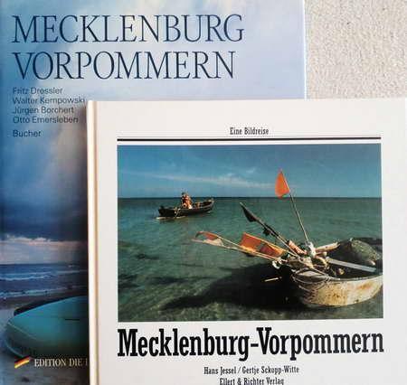 2 Bände Hardcover: Eine Bildreise. Mecklenburg -: Jessel, Hans und