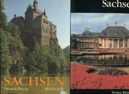 2 Bücher: Sachsen / Sachsen: Sieber, Helmut /