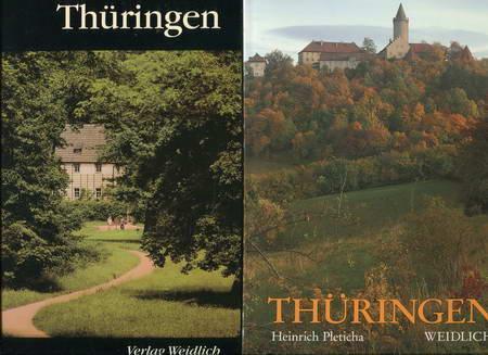 2 Bücher: Thüringen / Thüringen: Pleticha, Heinrich /