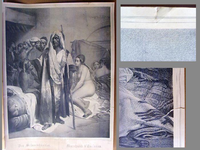 Der Sclavenhändler / Marchand d'Esclaves.: Vernet, H. (Horace),