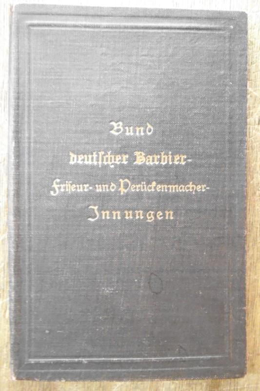 Lehrbrief des Verbandes Bund deutscher Barbier-, Friseur-: Laube, Paul (geb.