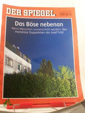 19/2008, Das Böse nebenan: Der Spiegel, das
