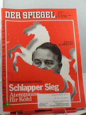 25/1986, 16. Juni, Schlapper Sieg, Atempause für: Der Spiegel, das