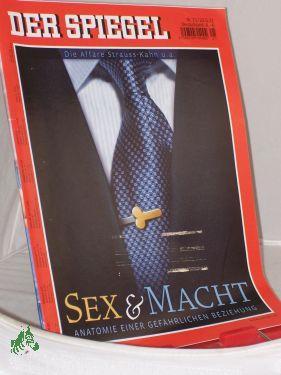 21/2011, Sex und Macht: Der Spiegel, Politkmagazin