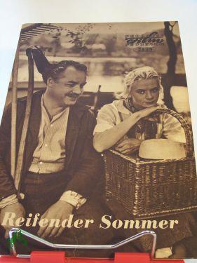 54/59 reifender Sommer: Filmheft , Progress