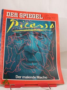 picasso, der malende macho: DER SPIEGEL 29/1985