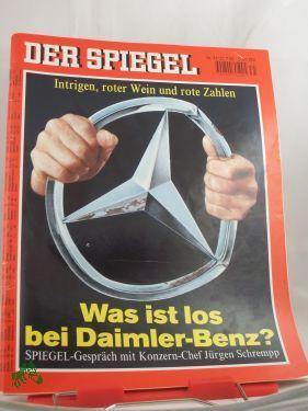 31/195, Was ist los bei Daimler Benz: DER SPIEGEL