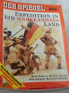 34/2000, Expedition in ein unbekanntes Land: DER SPIEGEL