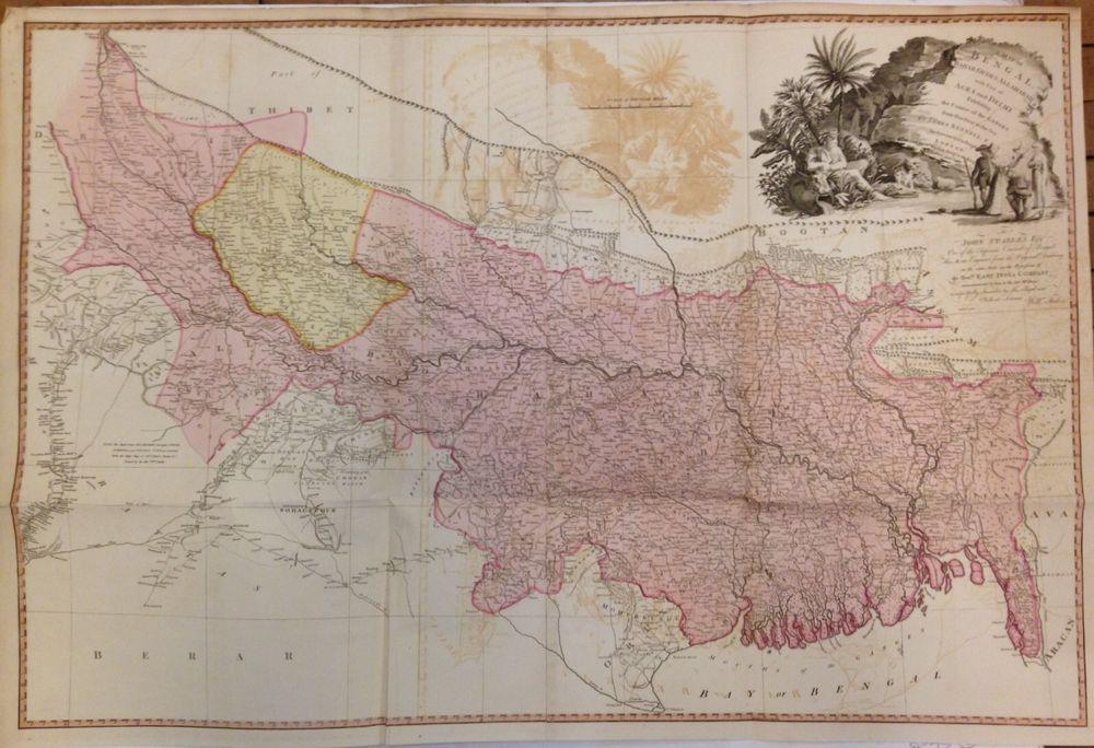 A Map of Bengal, Bahar, Oude &: WYLD, James