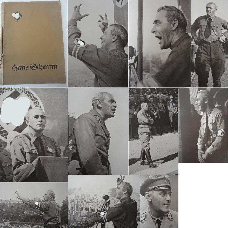 Hans Schemm. Dem Führer des Nationalsozialistischen Lehrerbundes: Karl Seibold:
