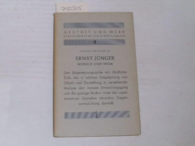 Ernst Jünger. Mensch und Werk: Becher