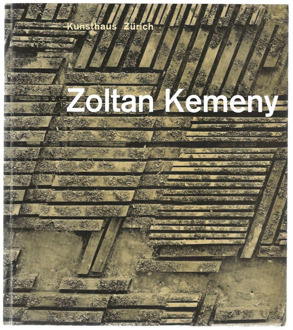Zoltan Kemeny: Zurich, Kunsthaus