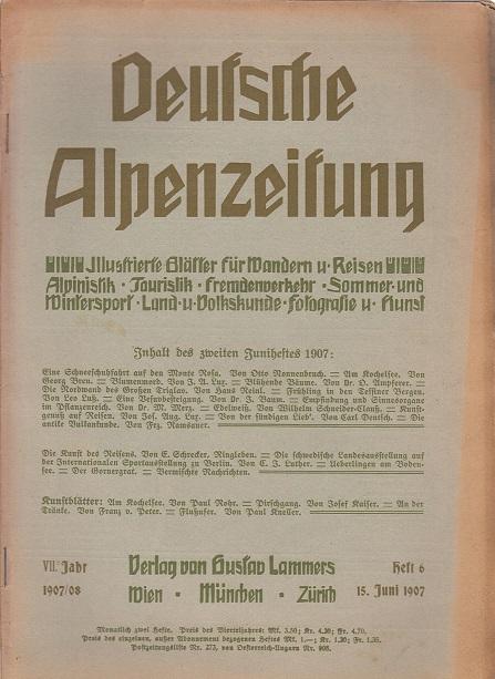 Deutsche Alpenzeitung: Lankes, Eduard